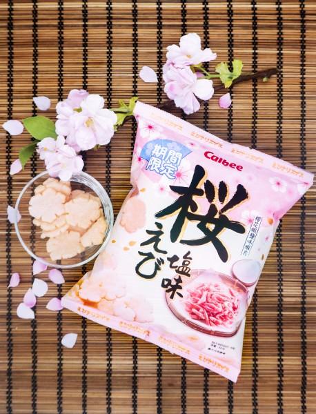 「卡樂B櫻花蝦鹽味蝦片」 限定登場
