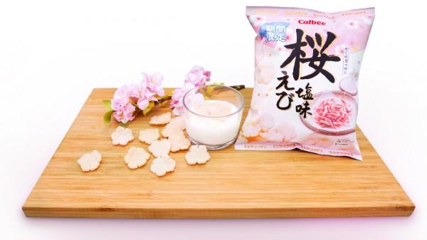 「卡樂B櫻花蝦鹽味蝦片」Fusion滋味小食 櫻花蝦片乳酪雪糕