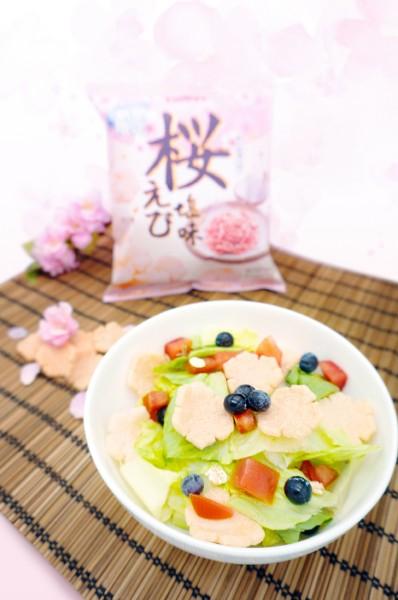 「卡樂B櫻花蝦鹽味蝦片」Fusion滋味小食 自家製櫻花沙律