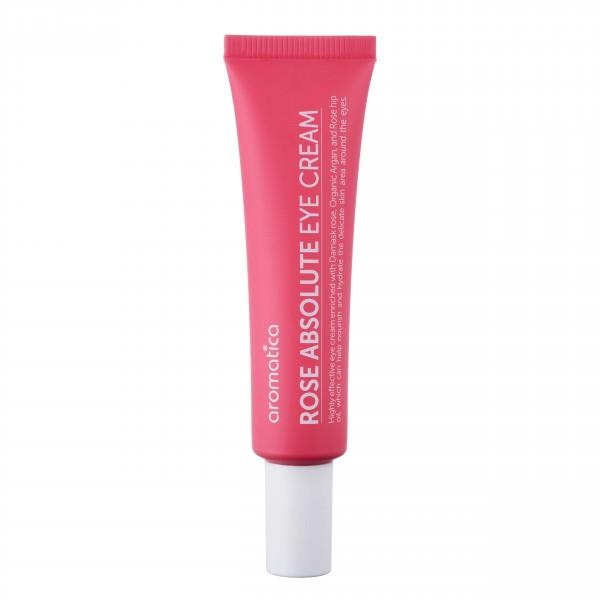 aromatica保加利亞玫瑰修護眼霜 有助促進血液循環、去除水腫、補充水分及舒緩敏感