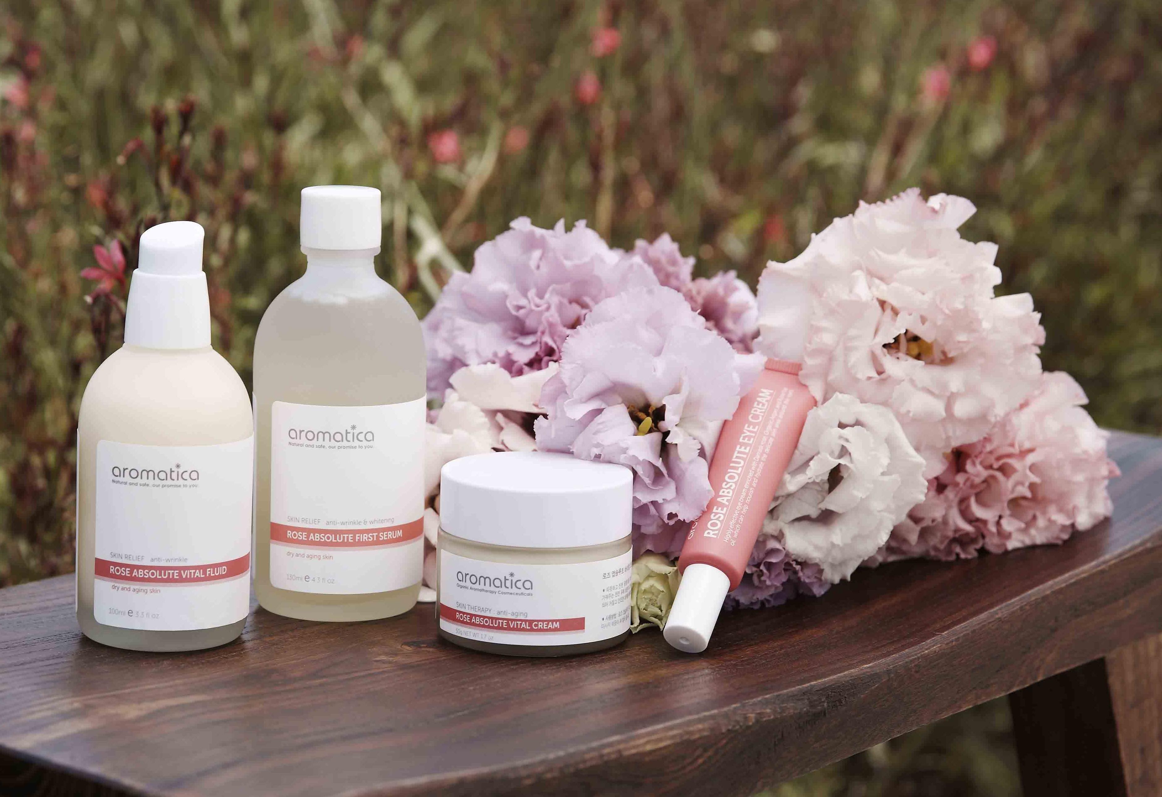 aromatica保加利亞玫瑰系列 今個春天為您的肌膚發起水潤美肌革命