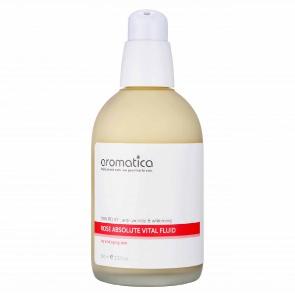 aromatica保加利亞玫瑰重點修護乳液 全天候保護肌膚,預防乾紋形成