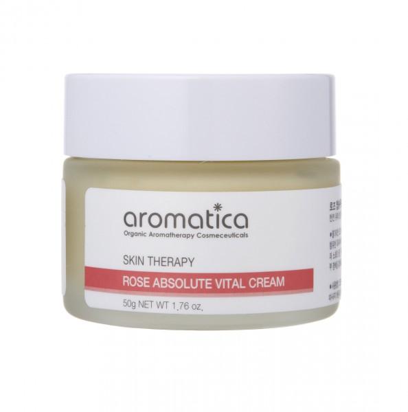 aromatica保加利亞玫瑰重點修護面霜 重點修復暗啞肌膚,加倍滋潤,深層亮白