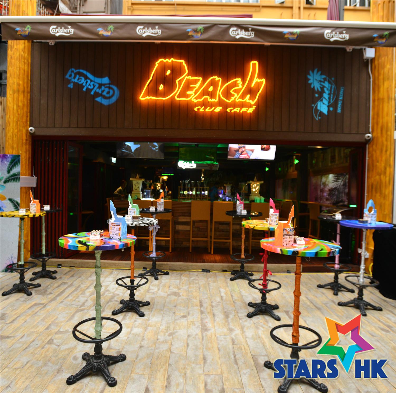 全新消閒酒吧Beach Club Café隆重開幕正式登陸香港