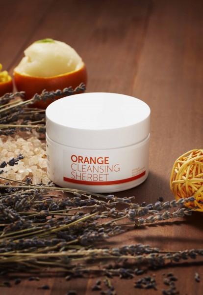 aromatica甜橙潔面雪葩不含酒精、礦物油及化學劑成分,天然安全,適合各種皮膚