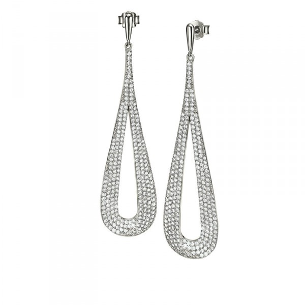 3E16S051C_FASHIONABLY SILVER EARRINGS_HK$1755