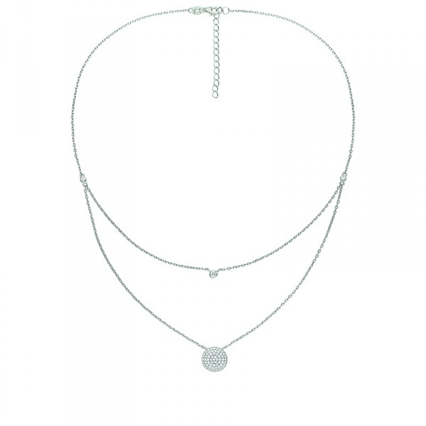 3N15S071C_FASHIONABLY SILVER NECKLACE_HK$875