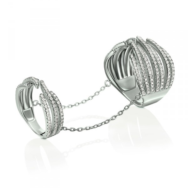 3R16S034C_FASHIONABLY SILVER RING_HK$1305