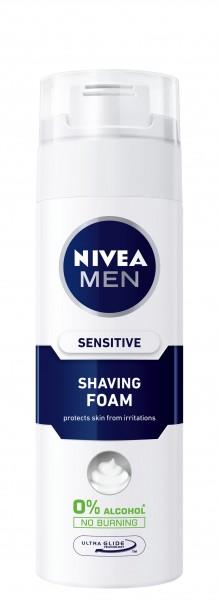 NIVEA MEN 男仕低敏補濕剃鬚沫
