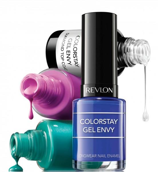 REVLON ColorStay Gel Envy_ Long Wear Nail Enamel持久鎖色水晶甲油