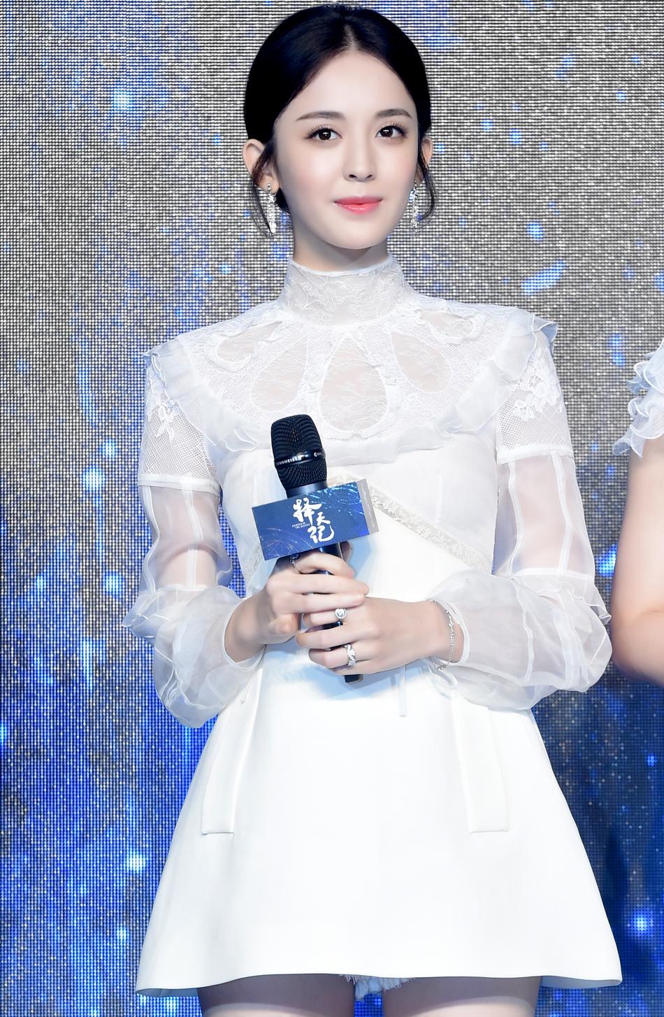 《择天记》发布会-娜扎(2)
