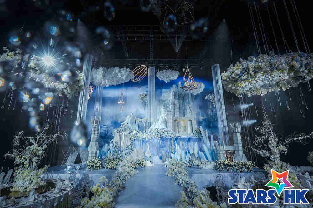 月亮酒店宴会厅变身梦幻城堡