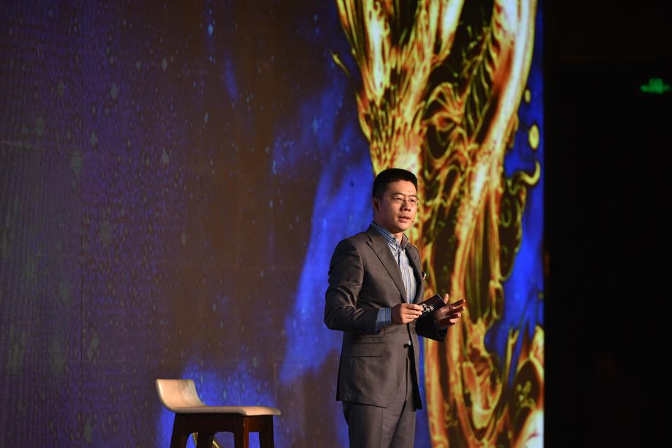 腾讯集团副总裁兼腾讯影业首席执行官程武先生讲话