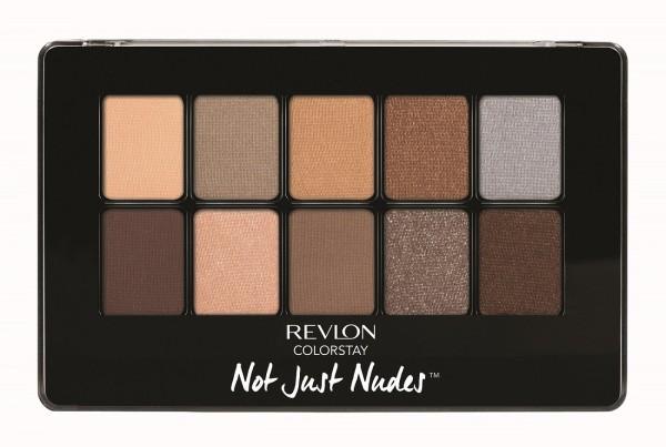 REVLON ColorStay™ Not Just Nudes Eyeshadow持久不脫色10色眼影組合- 01 Passionate Nudes熱情裸色