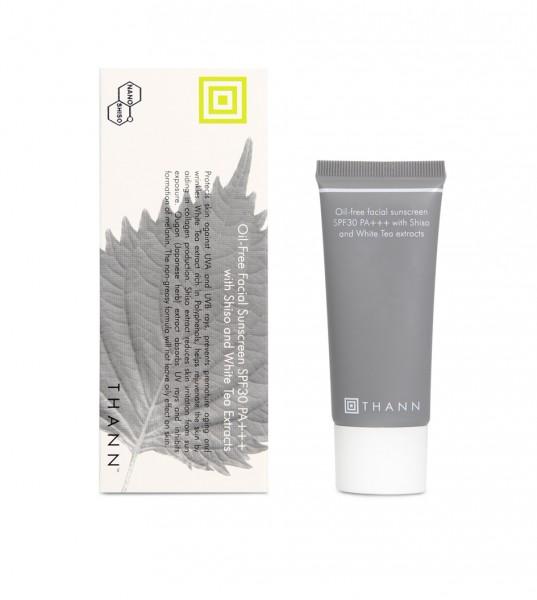 THANN Shiso Facial Sunscreen 天然紫蘇防曬面霜SPF30 PA+++