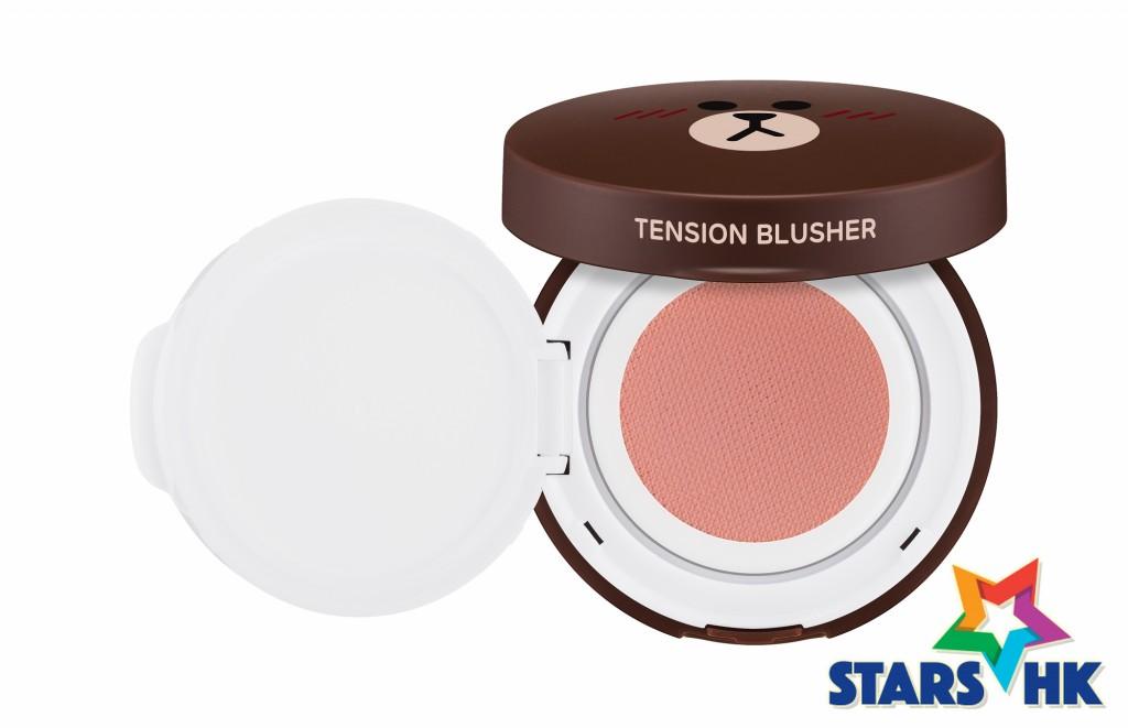 MISSHA自然氣墊胭脂餅Tension Blusher #PK01 #PK02#CR01 #OR01 4色 各$138