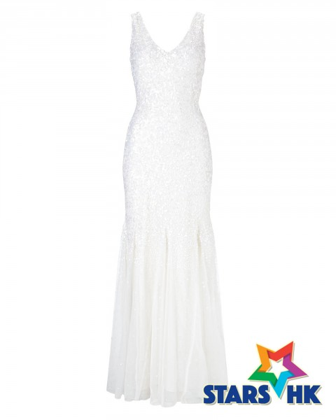 TALUNIA SEQUIN FULL LENGTH DRESS_203459