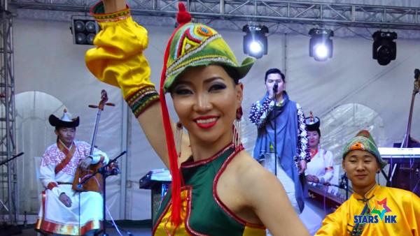 傳統蒙古唱歌舞蹈表演