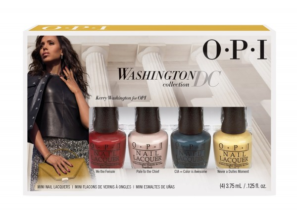 O.P.I Kerry Washington Collection四色迷你甲油套裝