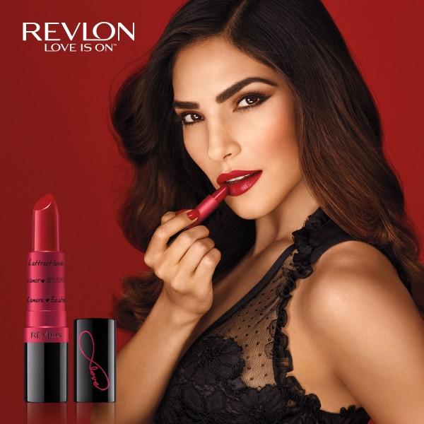 "Revlon Super Lustrous®包裝以6種不同語言的""I attract love""詮釋愛的魔力"