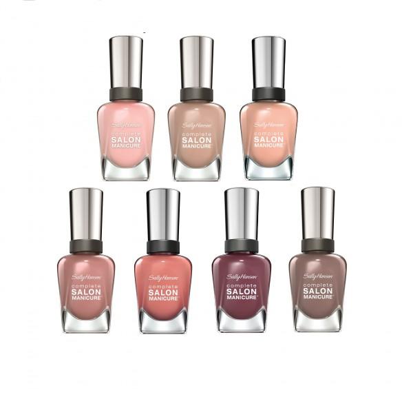 Sally Hansen Complete Salon Manicure_ -優雅自然裸色系