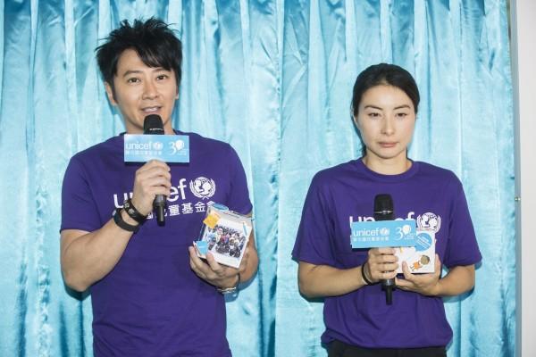 UNICEF HK大使孫耀威分享了他早前到非洲安哥拉親善探訪,親眼看見病童吐血身亡,並呼籲大家參加『布施行動』以幫助災難中的兒童。