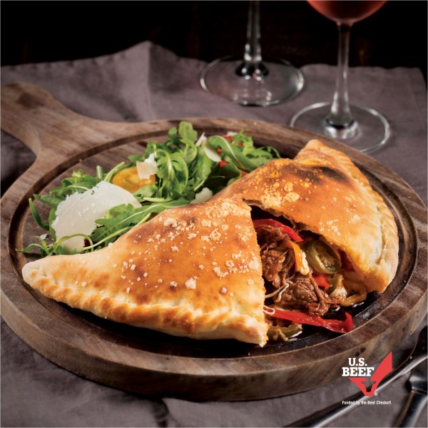 Wildfire_德州燴牛肉餡餅 (Texas Beef Chili Calzone)_HK$158
