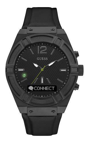男裝全黑別注版款式以型格磨沙黑色錶殼,襯托全黑色錶盤和矽膠錶帶,拼湊出時尚型格魅力。