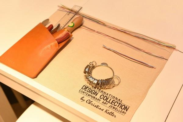 TSL│謝瑞麟「現代手作珠寶系列」體驗工作坊的製作工具