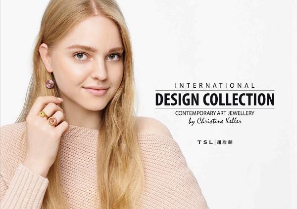 "TSL│謝瑞麟推出""International Design collection "" 攜手美國手作設計師Christine Keller打造全..."