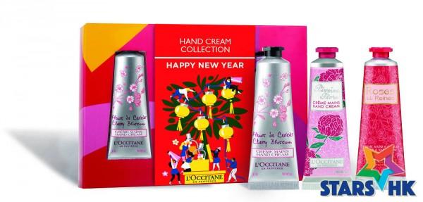 CNY_Floral Hand Cream Trio Set
