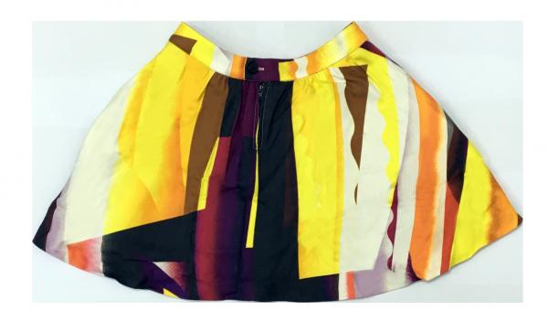 (Emax discount) Kenzo 色彩半截裙