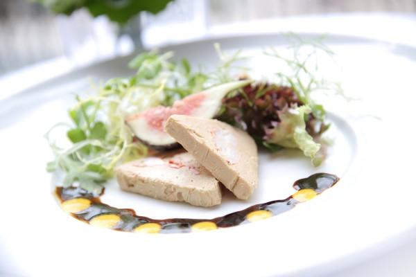 Lobster & Foie Gras dish