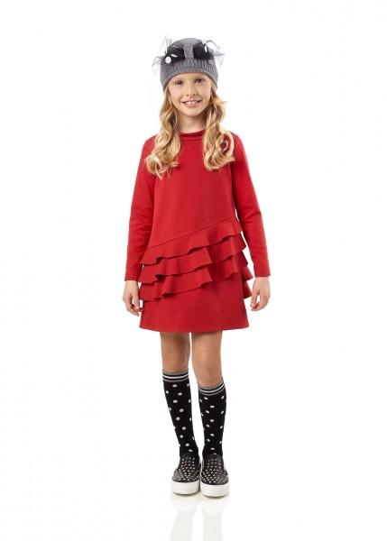 Simonetta 紅色蛋糕連身裙 from $2790 ; 女裝冷帽 $1390