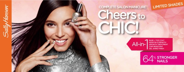 SALLY HANSEN COMPLETE SALON MANICURE_ 全新Cheers to CHIC!系列 5款時尚限量新色