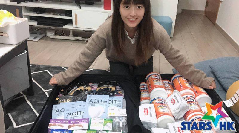 牛雜妹李亦喬韓國逛超市及便利店掃口罩