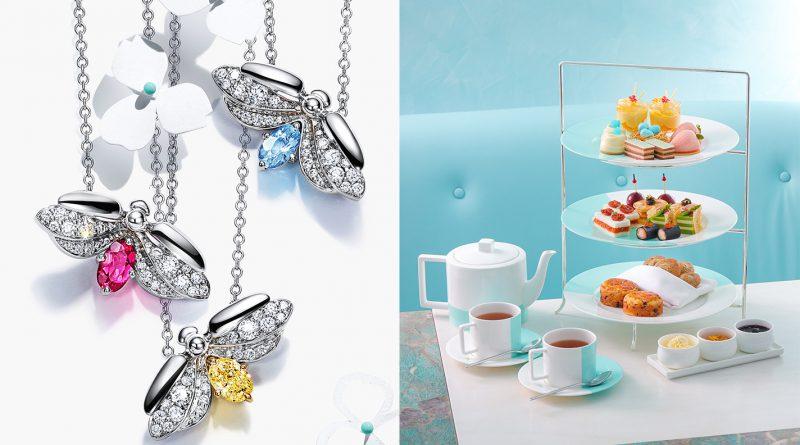 Tiffany Paper Flowers™ 螢火蟲系列 與 Blue Box Cafe 全新菜式一同迎春夏