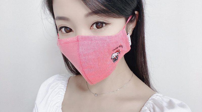 (美容達人楊佩佩)Hey Smiley推出全新Sanrio牛津紡口罩連索繩袋套裝